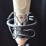 condenser microphone at microphone test