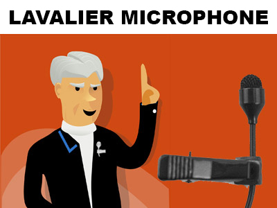 lavalier microphone for smartphone usage
