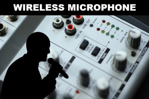 wireless microphone test