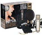 Condenser Microphone Rode NT-1A Anniversary Vocal Condenser Microphone Package