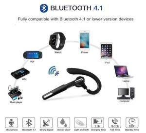 Bluetooth Microphone Wireless Headset
